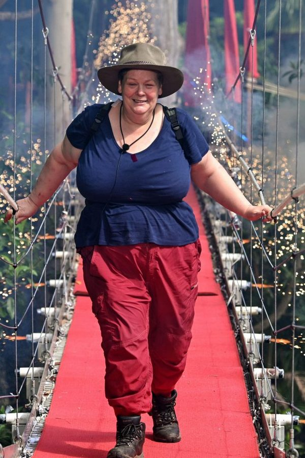 Anne Hegerty weight loss