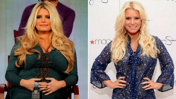 Jessica Simpson before weight watchers
