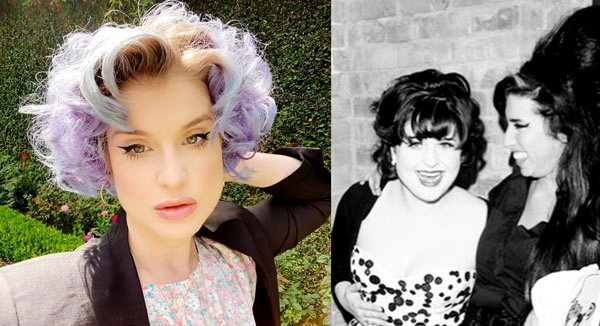 Kelly Osbourne before and after weight loss diet photo