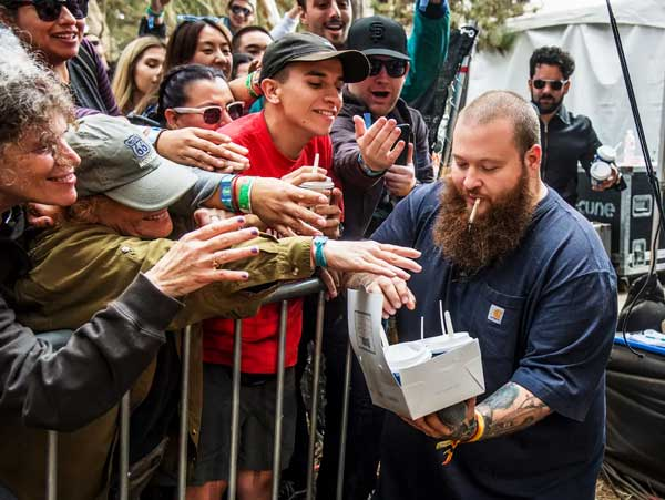 Rapper Action Bronson pushes himself harder to stay in shape: 80 lbs in 5 months. Can you do the same?