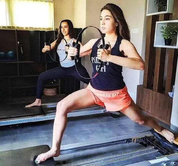 Sara Ali Khan weight loss workout